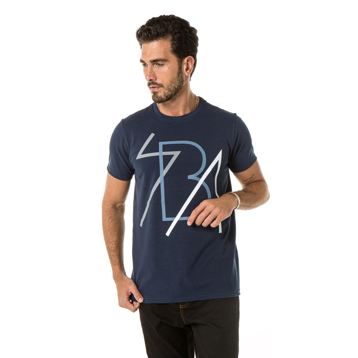 Camiseta Masculina Sba  20394