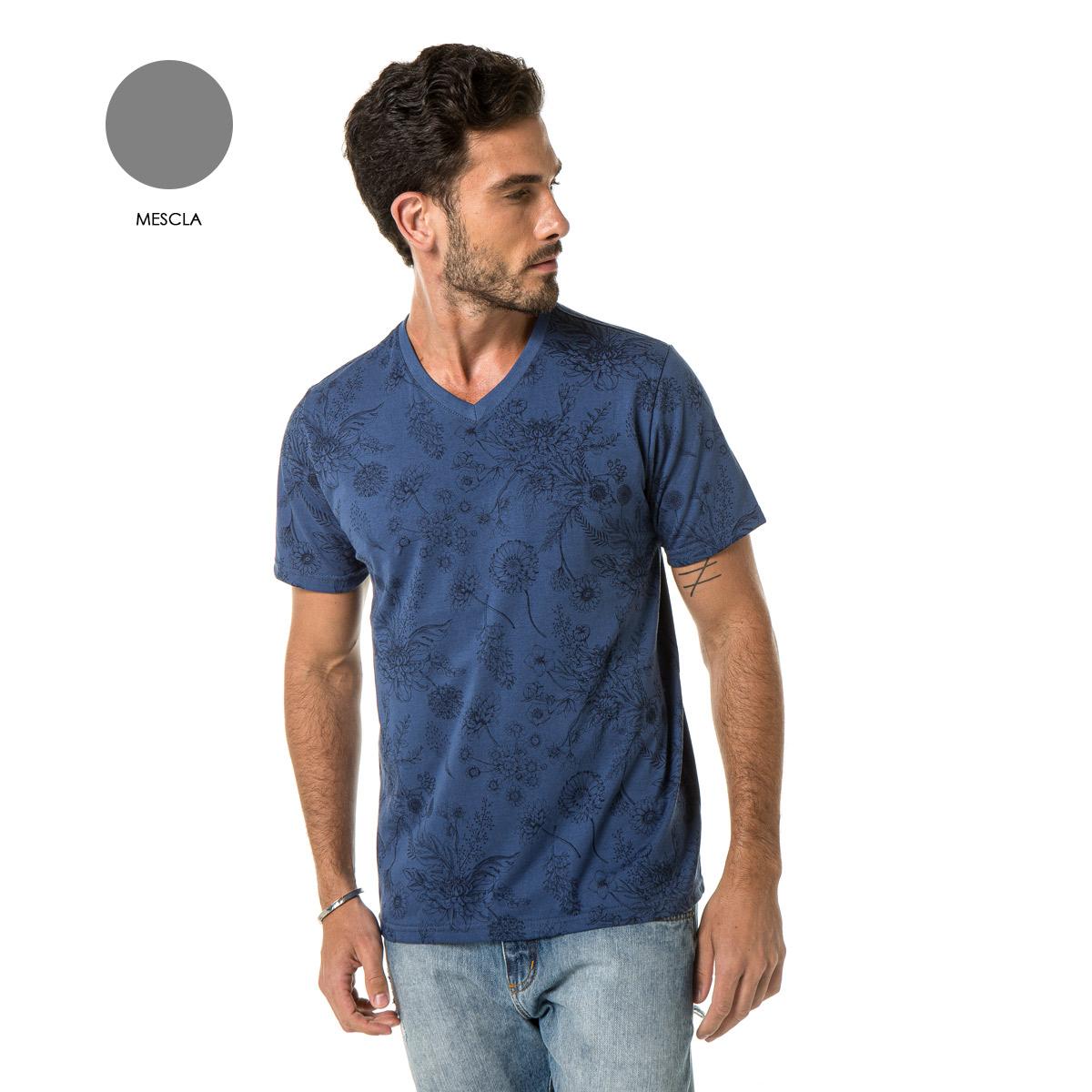 Camiseta Masculina Sba 20401
