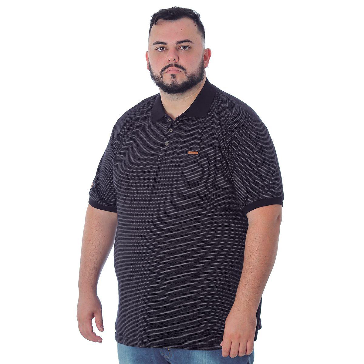 Camiseta Polo Masculina Gangster 64.56.0044