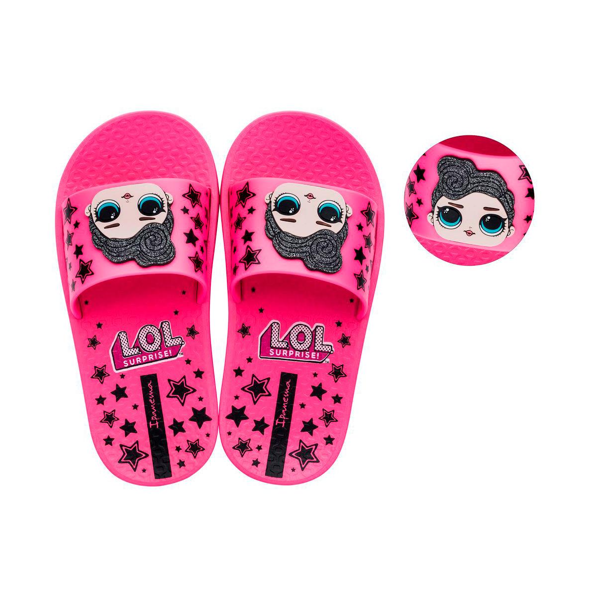 Chinelo Infantil Feminino Ipanema Lol Surprise Slide 263261