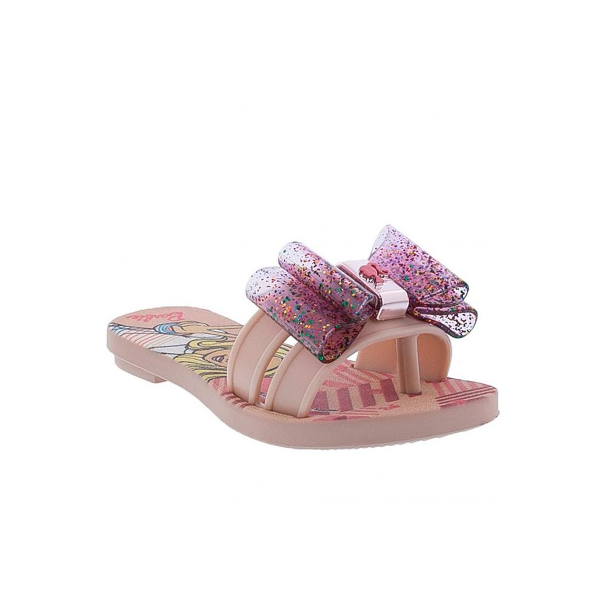 Chinelo Infantil Feminino Slide Barbie 22444
