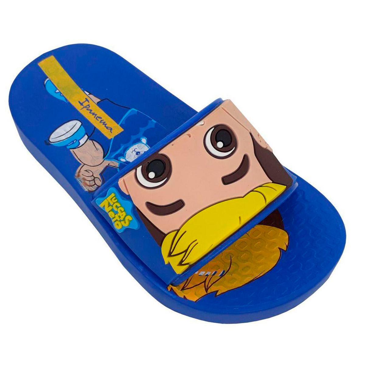 Chinelo Slide Masculino Infantil Ipanema Lucas Neto 26497