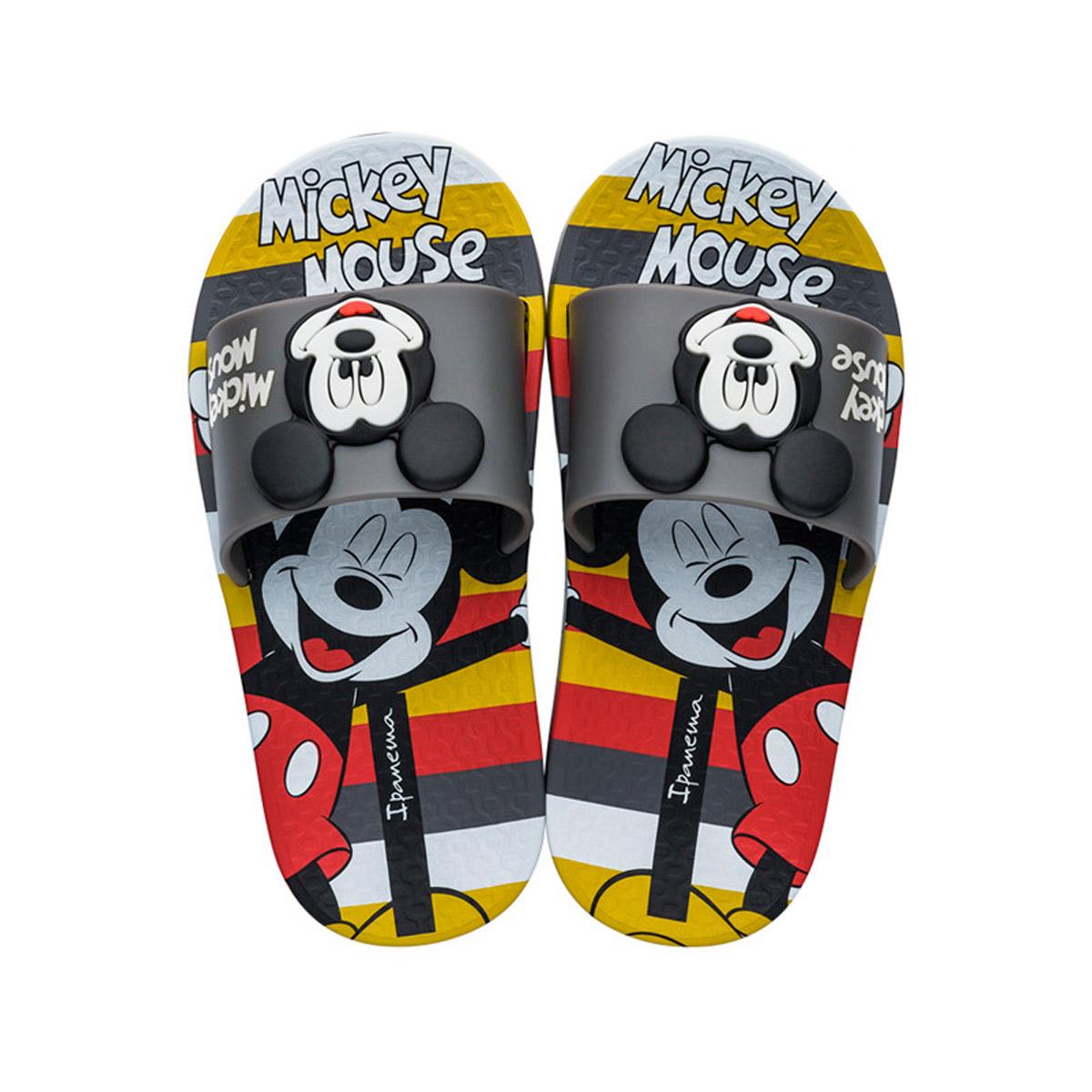 Chinelo Slide Masculino Infantil Ipanema Mickey Mouse 26424