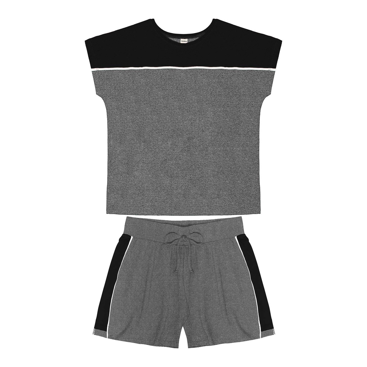 Conjunto Feminino Blusa e Shorts Rovitex 6155145