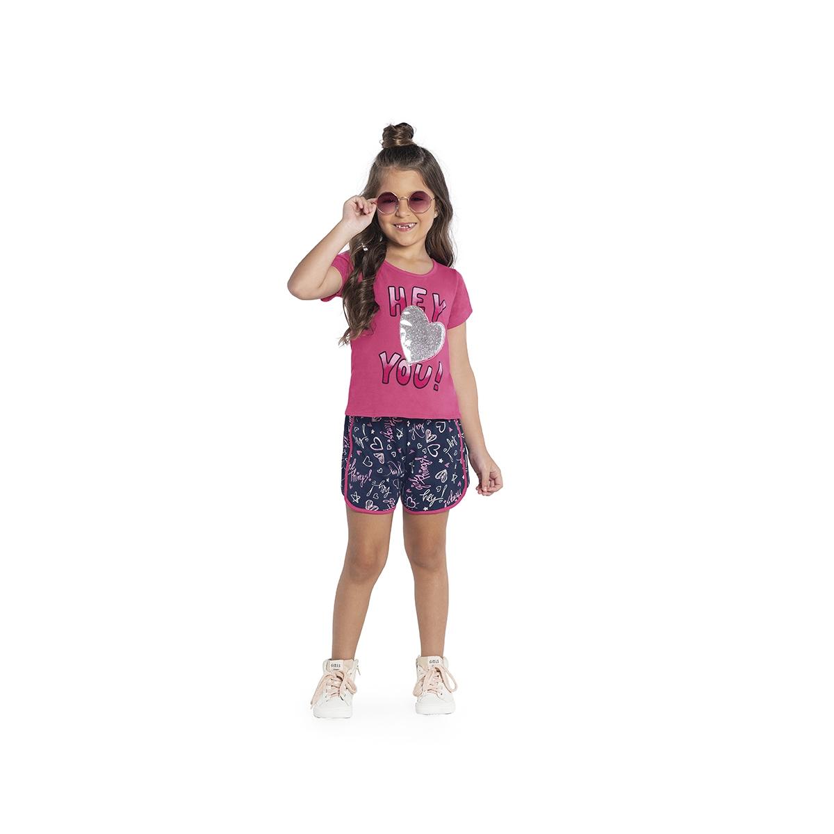Conjunto Infantil Feminino Rovitex 3124852