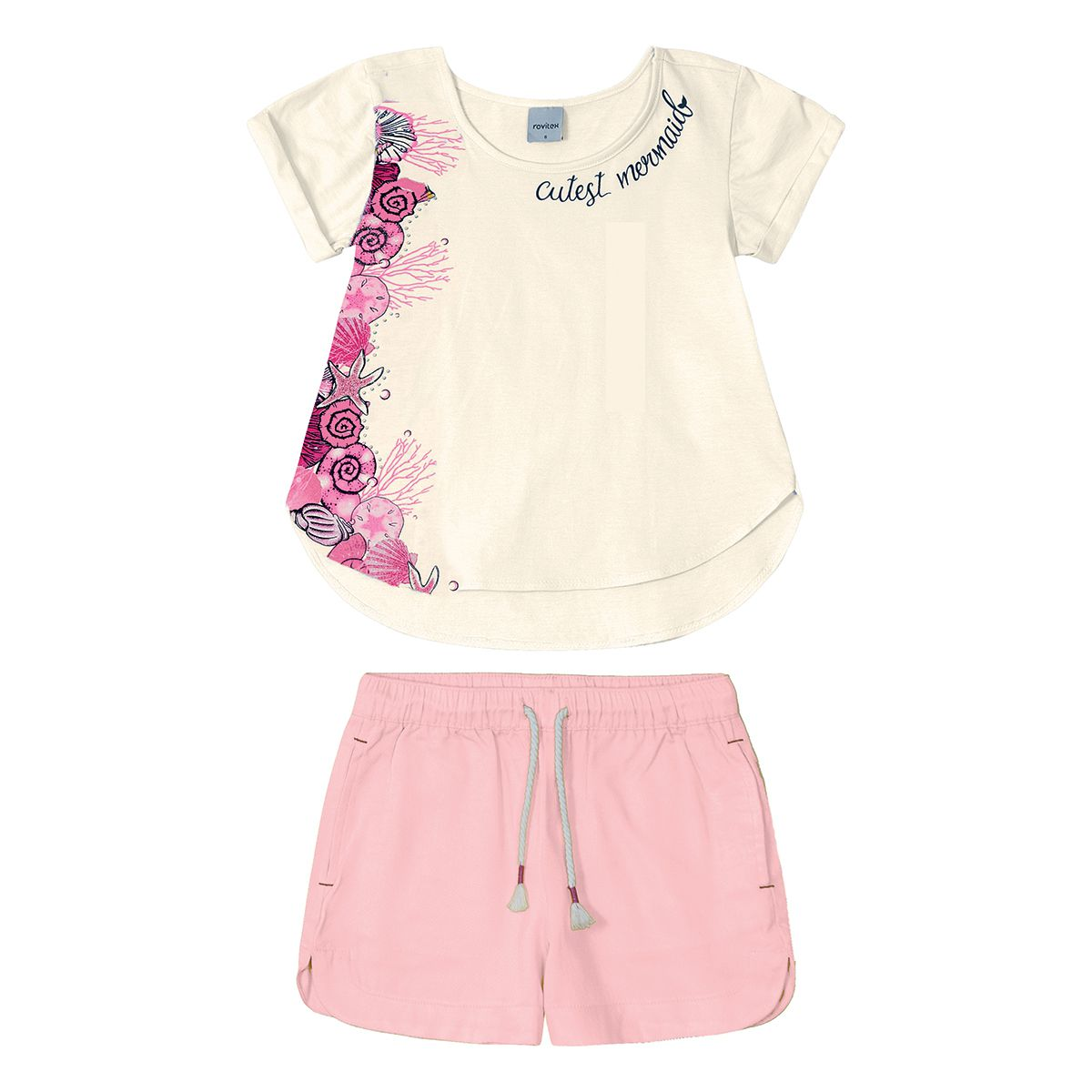 Conjunto Infantil Feminino Rovitex 3187112