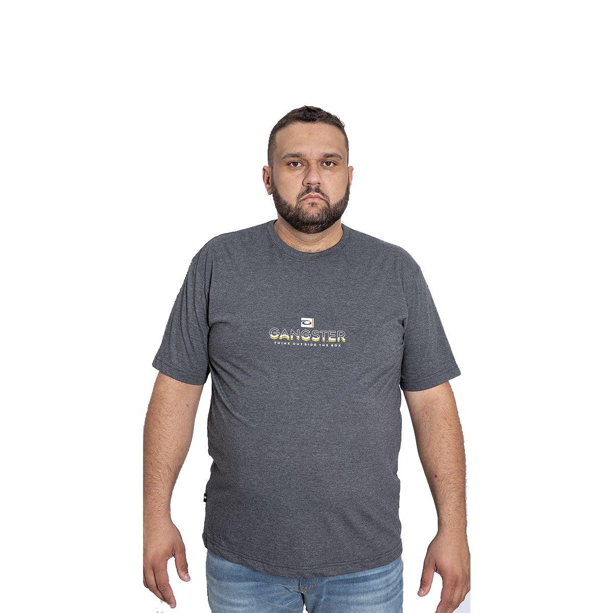 GANGSTER CAMISETA MASC 50.01.1257 COR BRANCO