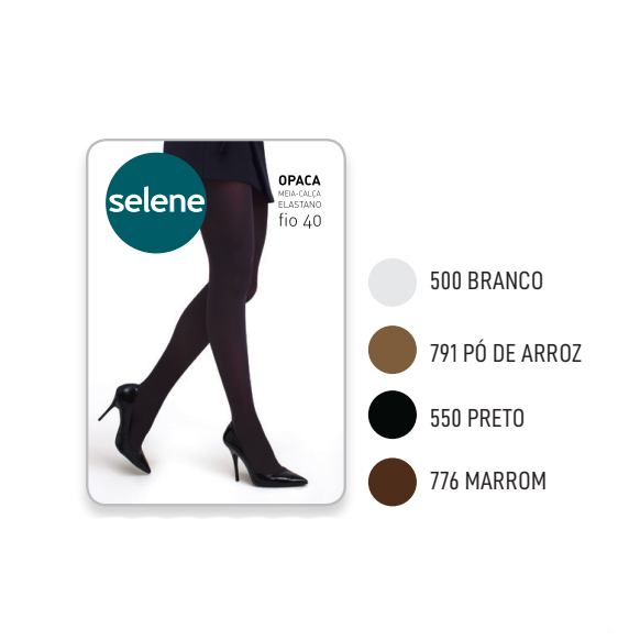 Meia Calça Feminina Opaca Selene 9650.001
