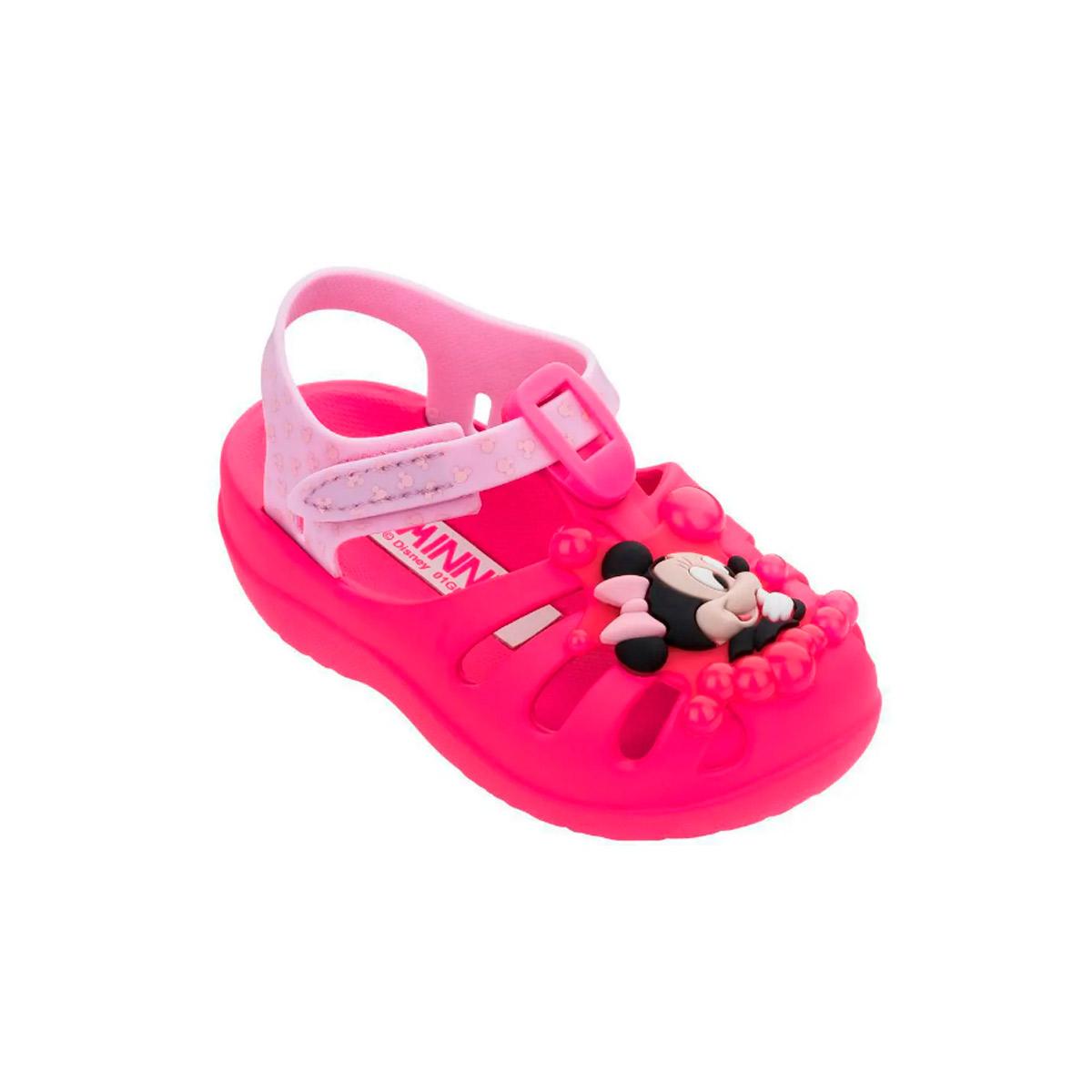 Sandália Disney Infantil Feminina Minnie 22075