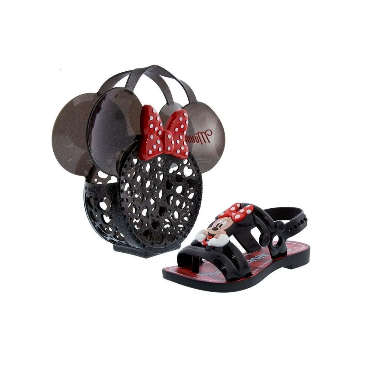 Sandália Infantil Feminina Minnie 22167