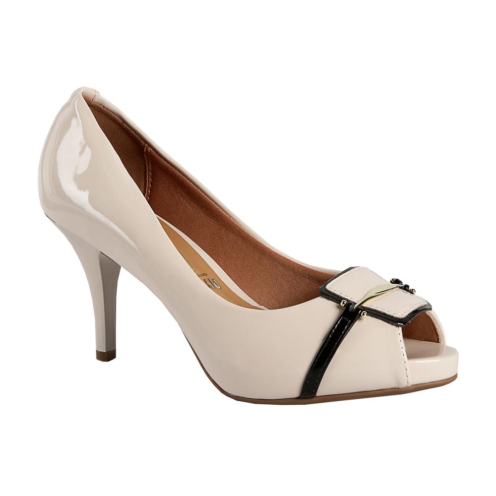 Sapato Feminino Peep Toe Vizzano 1781.467
