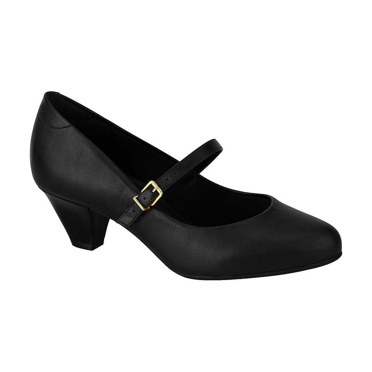 Sapato Feminino Salto Baixo com Fivela Modare 7005.641
