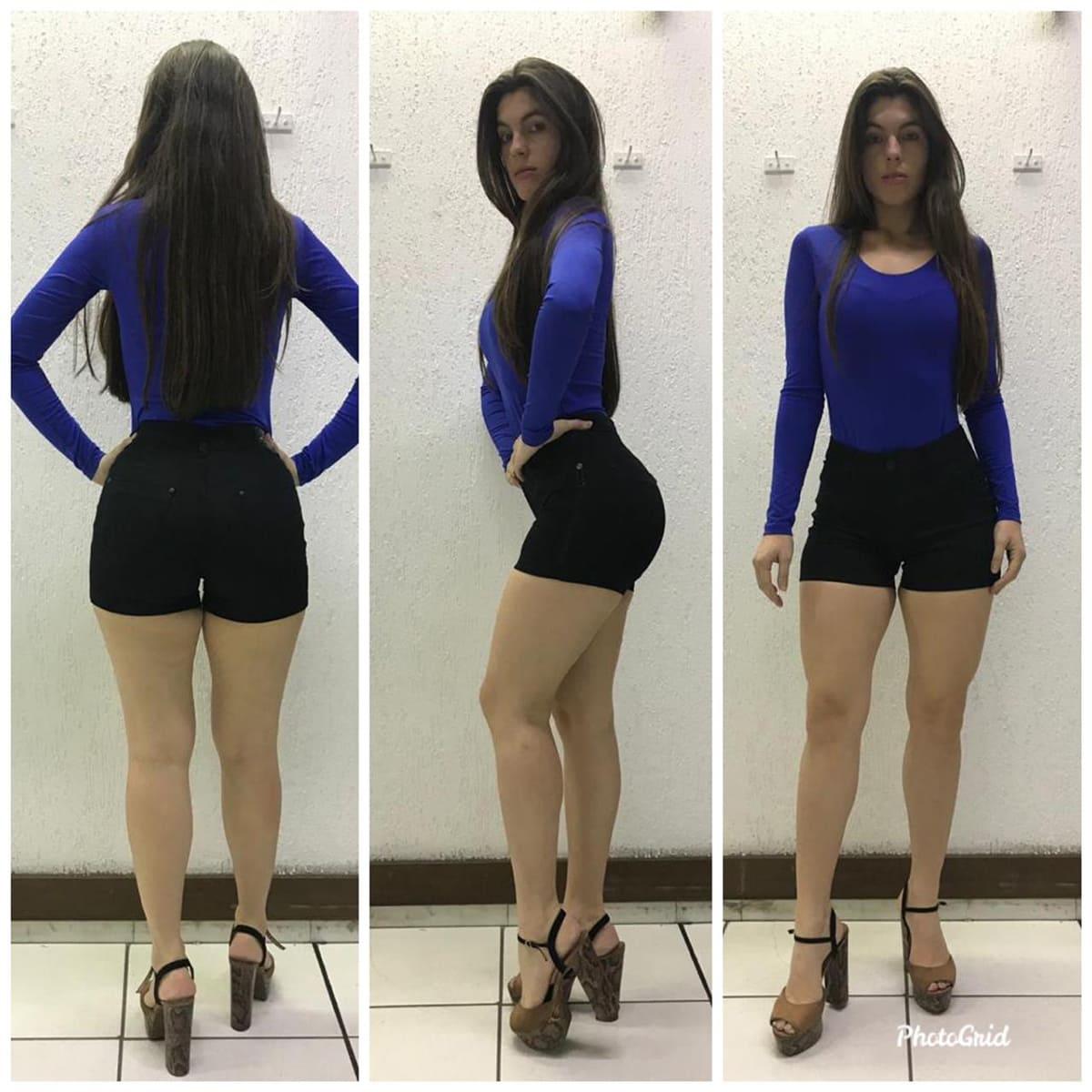 Shorts Feminino Bivik 71141