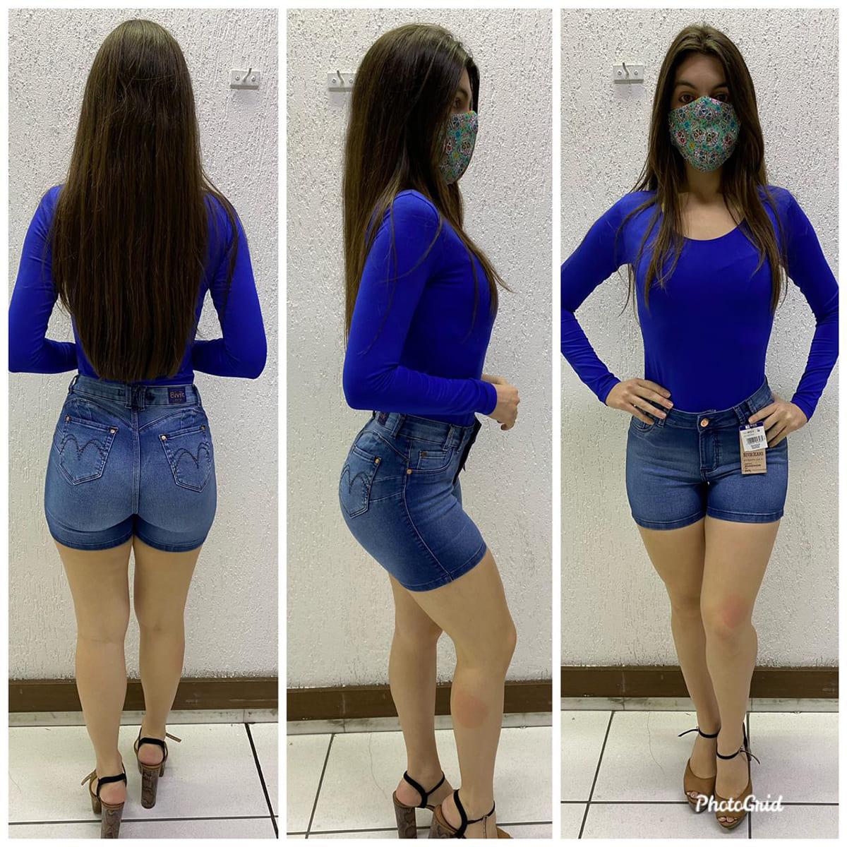 Shorts Feminino Bivik 74818
