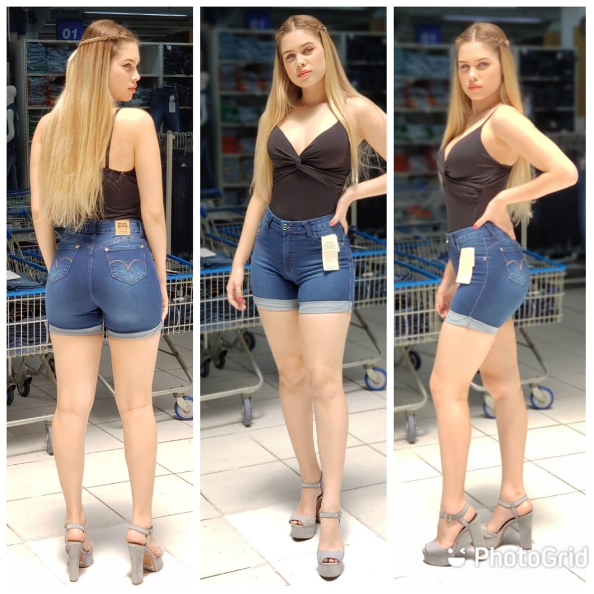 Shorts Feminino Bivik 75847