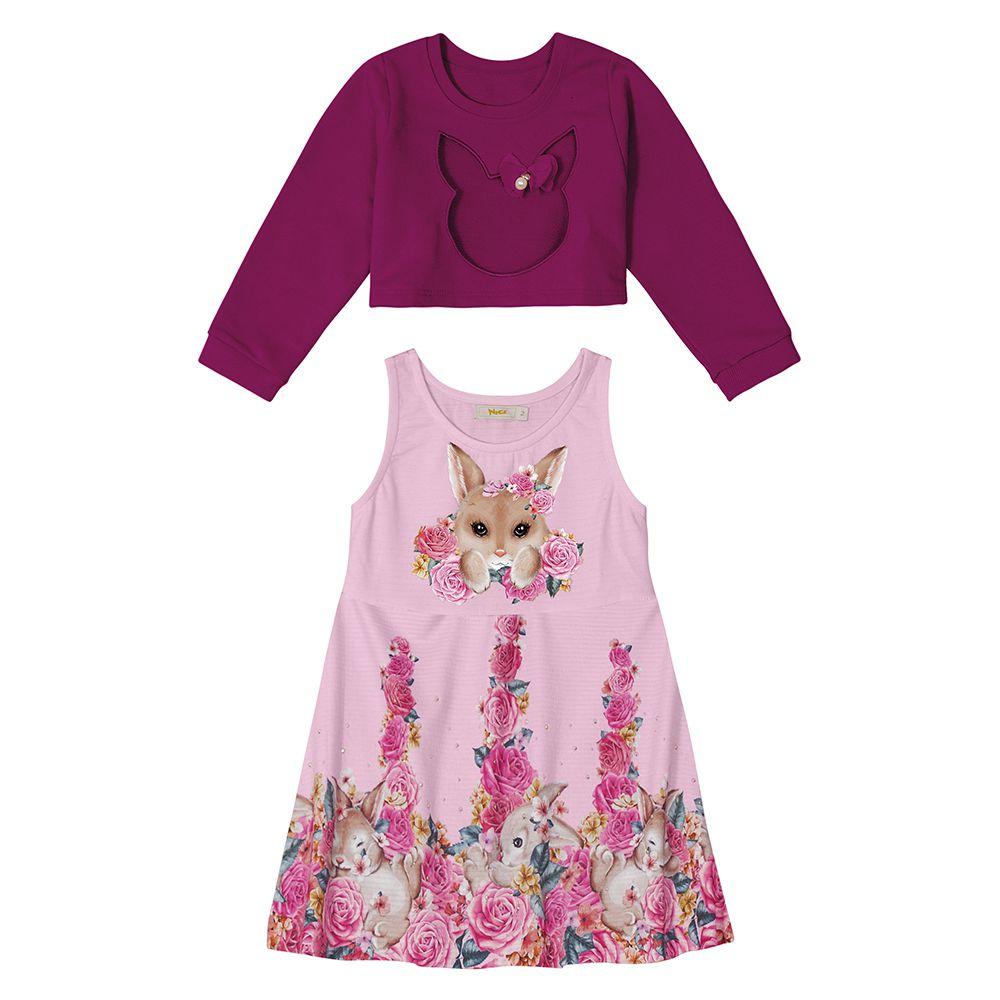 Vestido Infantil Feminino Trick Nick 111702