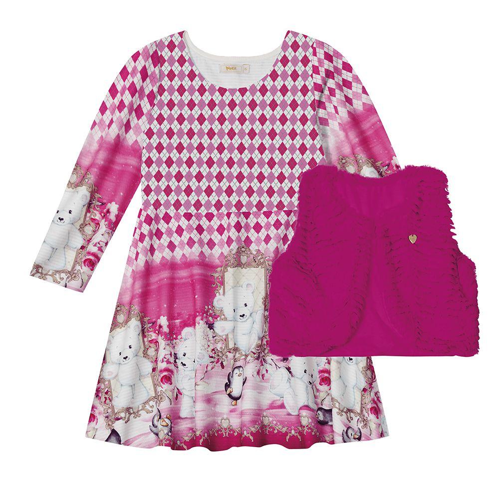 Vestido Infantil Feminino Trick Nick 1117162
