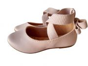 Sapatilha Nude  Napa Tipo Ballet Infantil/Infanto