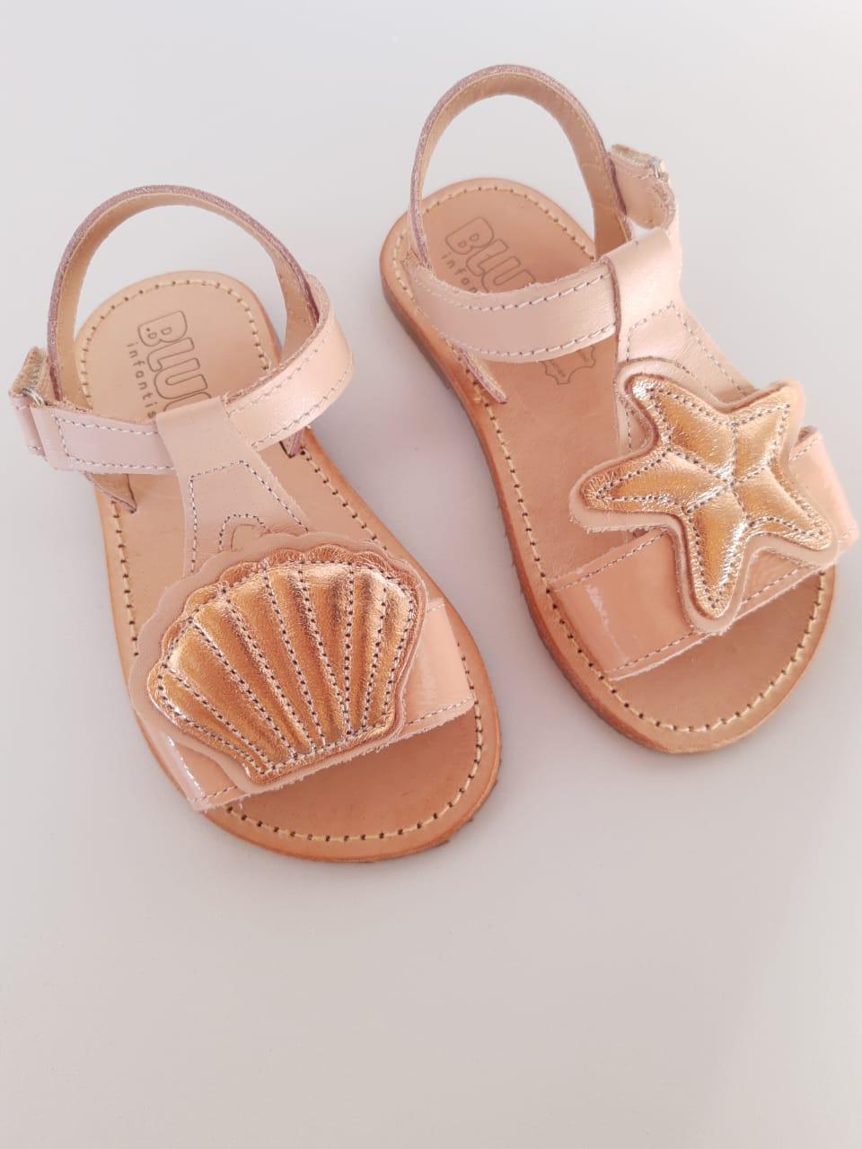 Sandália Baby Lolla Fundo do Mar
