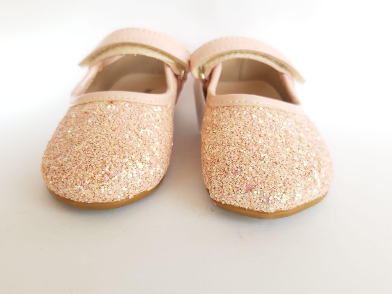 Sapatilha Baby Glitter Menina Rio