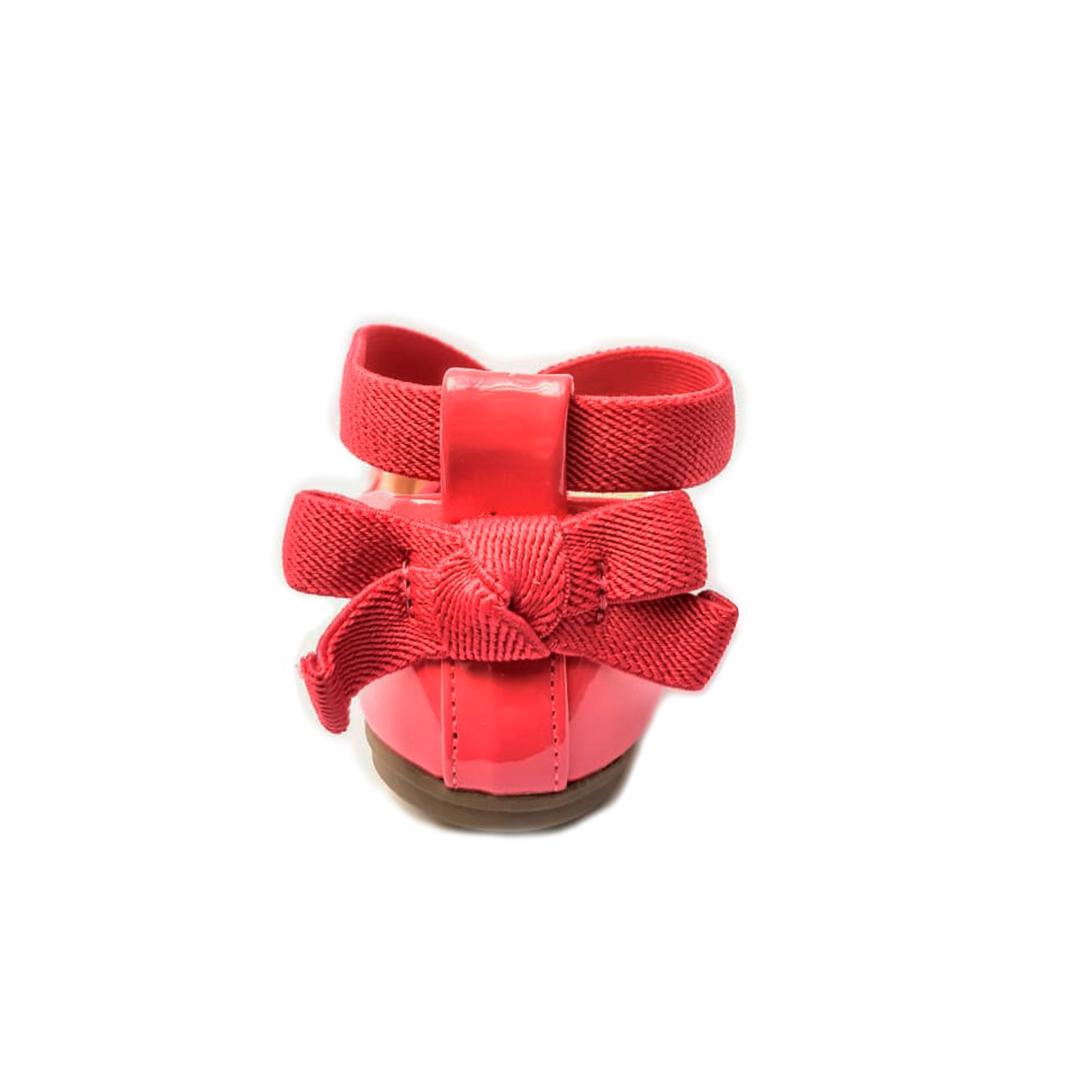 Sapatilha Verniz Pink(Borgonha) Contramão