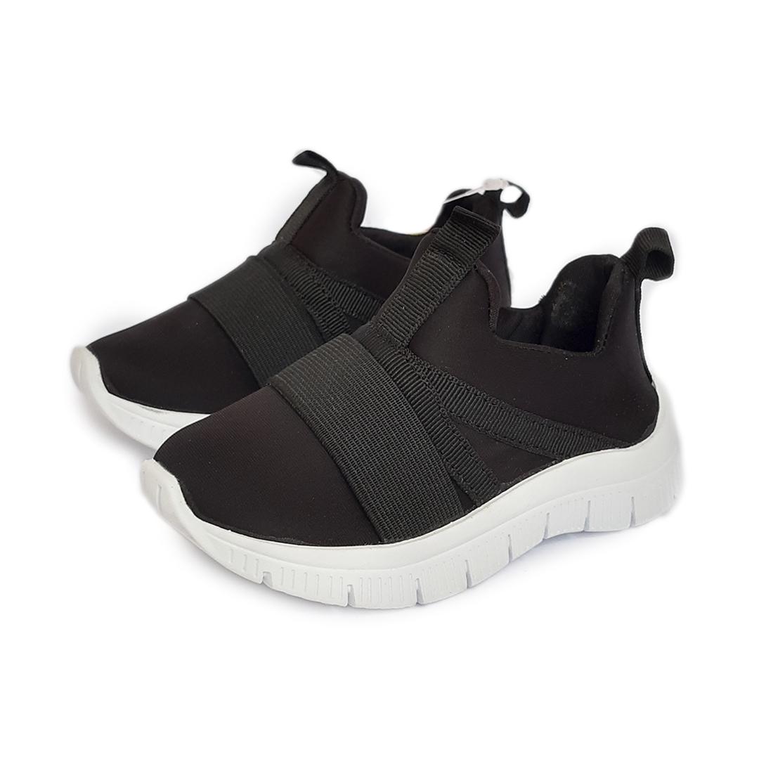 Tênis Sneaker Preto Infantil Maria Caramelo