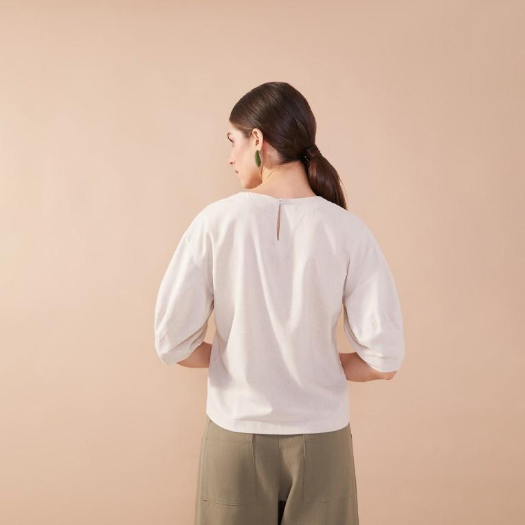 Blusa Marfim