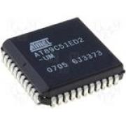 Circuito Integrado SMD AT89C51RD2-SLSUM PLCC44