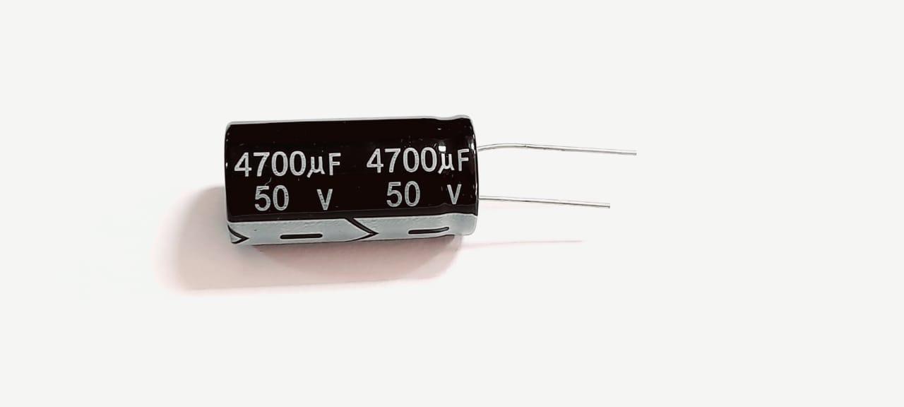 CAPACITOR ELETROLÍTICO 4700UF/50V 18X35MM
