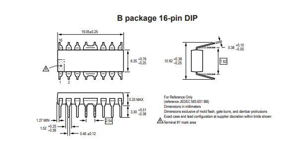 Circuito Integrado A3955SB-T DIP 16