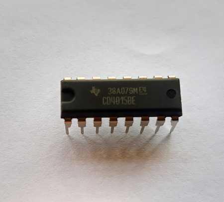 Circuito Integrado CD4015