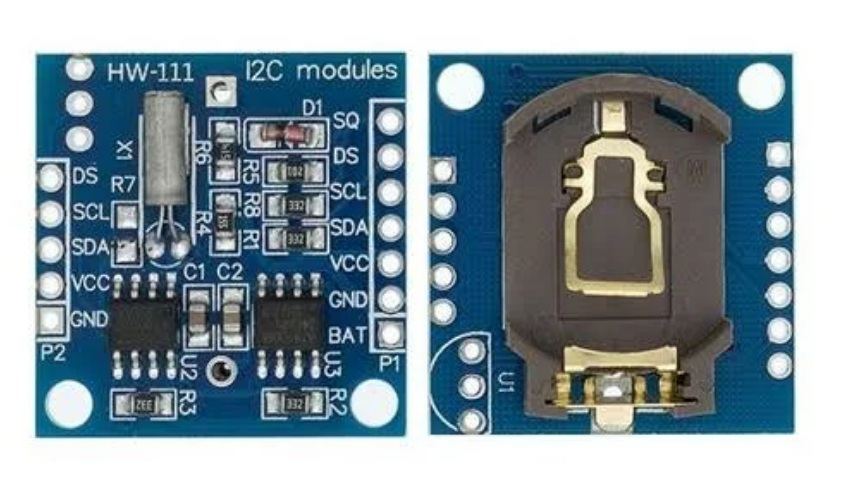 CI MODULO DS1307+ EEPROM AT24C32 S/ BATERIA