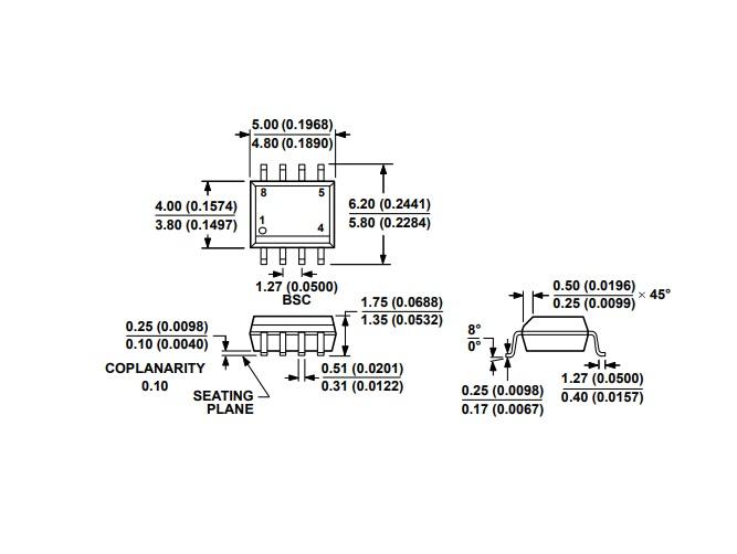 Circuito Integrado SMD ADM3483ARZ