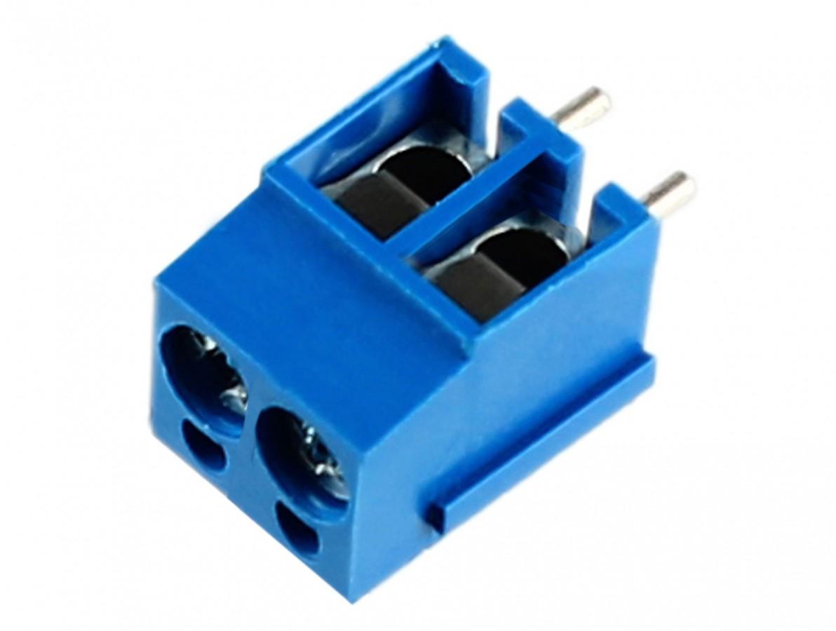 CNC BORNE KRE 2VIAS 12,60MM AZUL GS001S-5.0-2P-13-01A