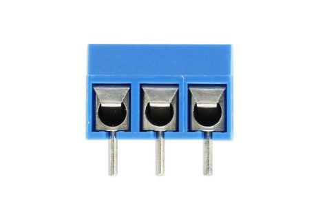 CONECTOR BORNE KRE 3VIAS 12,5MM AZUL GS001S-5.0-3P-2B