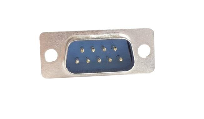 Conector DB09 MACHO PCI 180