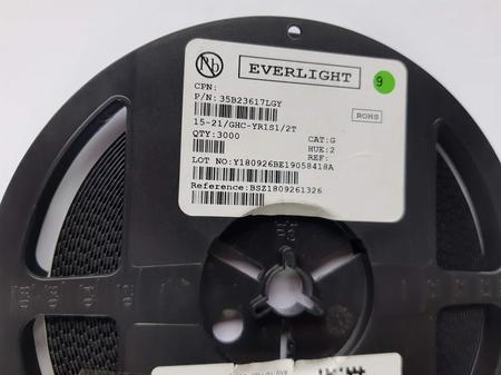 LED SMD 1206 VERDE 15-21/GHC-YR1S1/2T