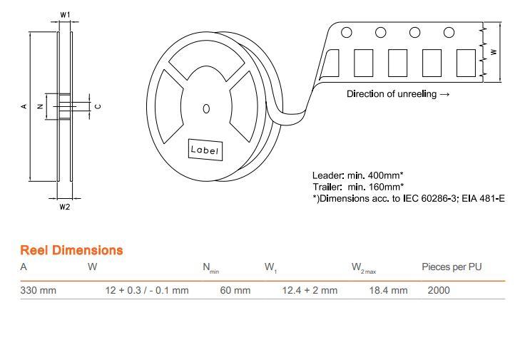 LED SMD Q65111A1158 SFH4258S