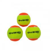 Bola Vision Para Beach Tennis Com 3 Bolas