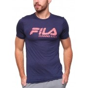 Camisa Fila Run Bars Melange
