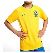Camisa Nike Cbf Oficial I 2018 Infantil