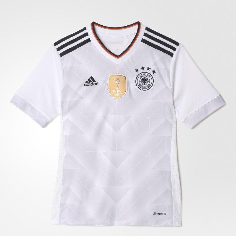 Camisa Adidas Alemanha I 2017 Kids