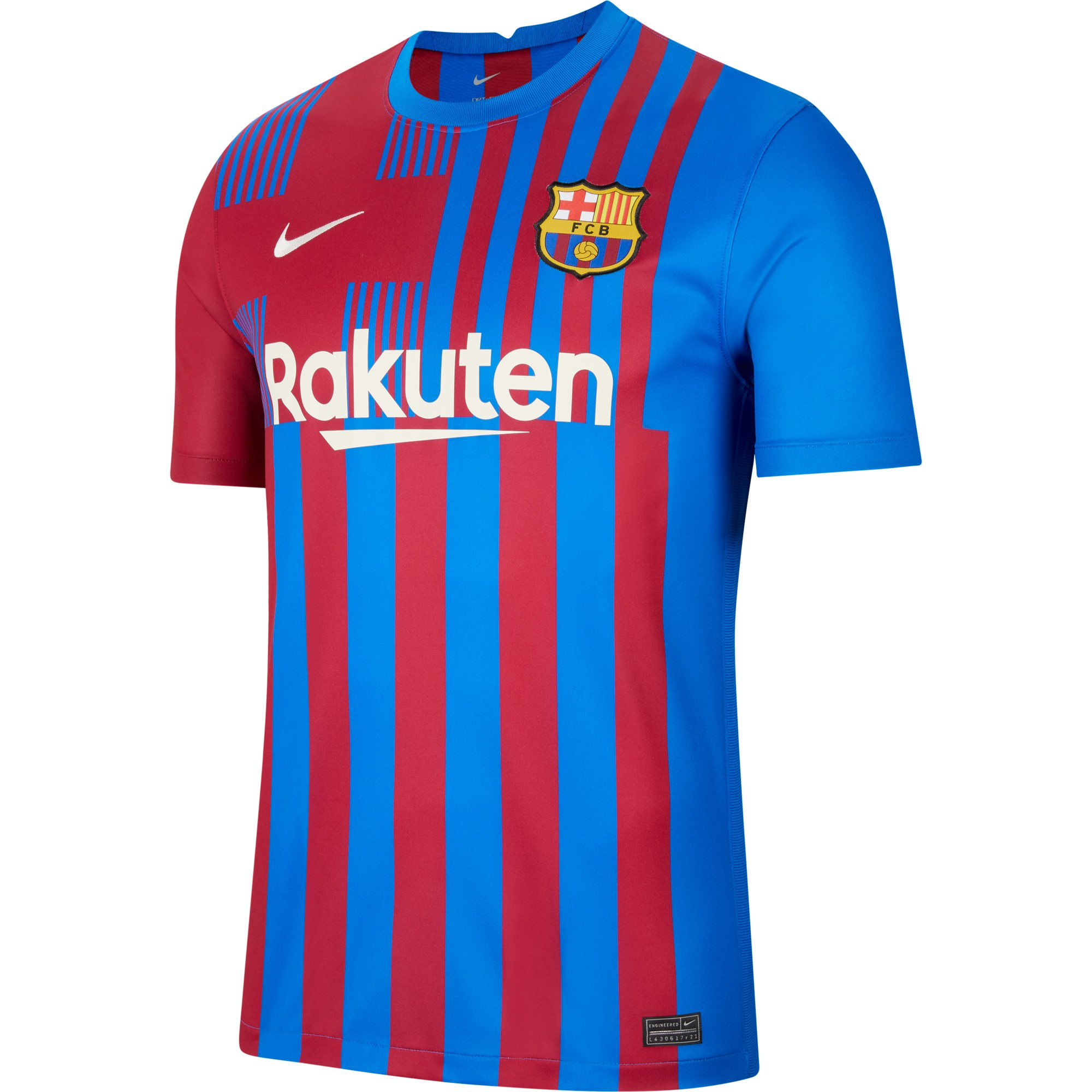 Camisa Nike Barcelona Home 21/22 Torcedor