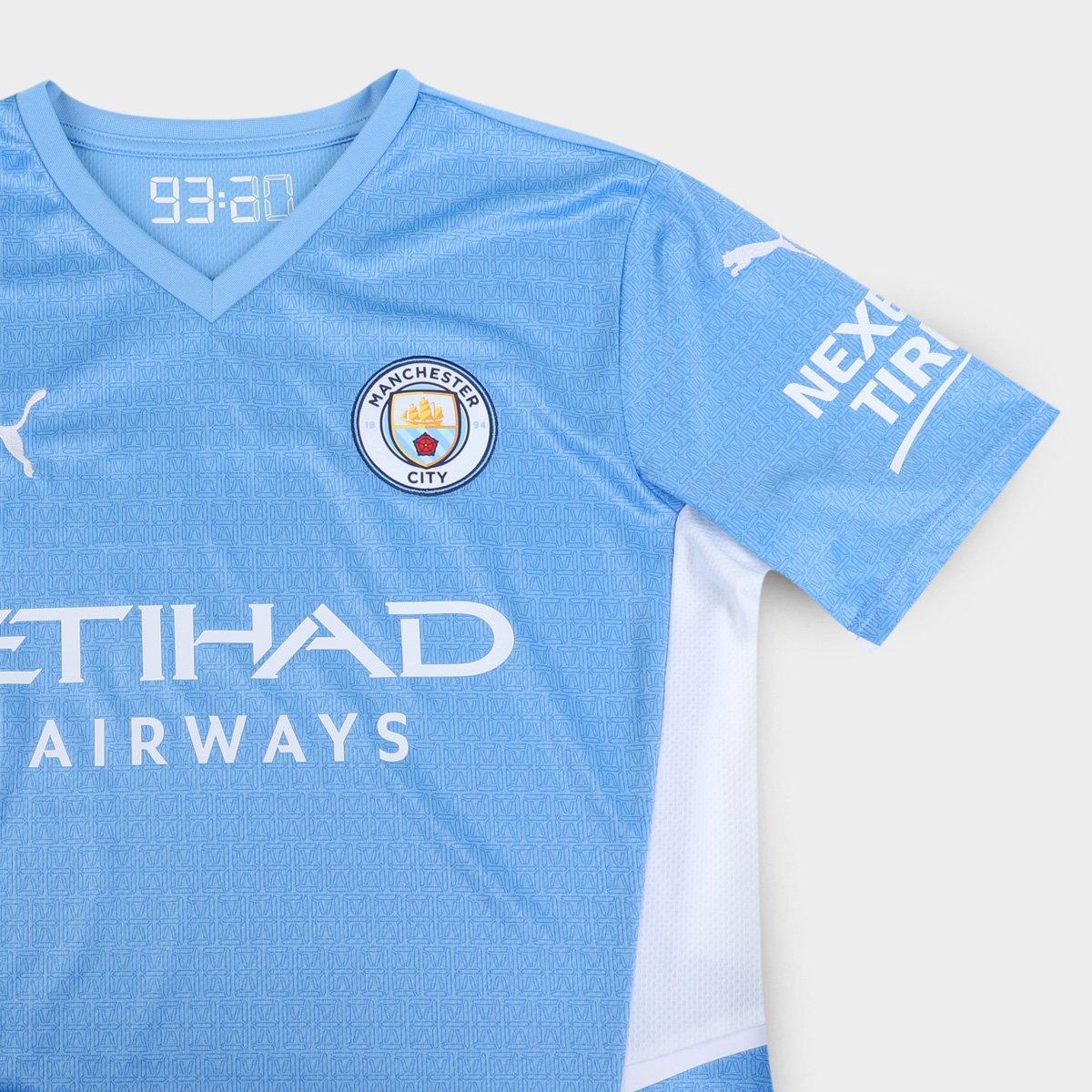 Camisa Puma Manchester City Home 21/22