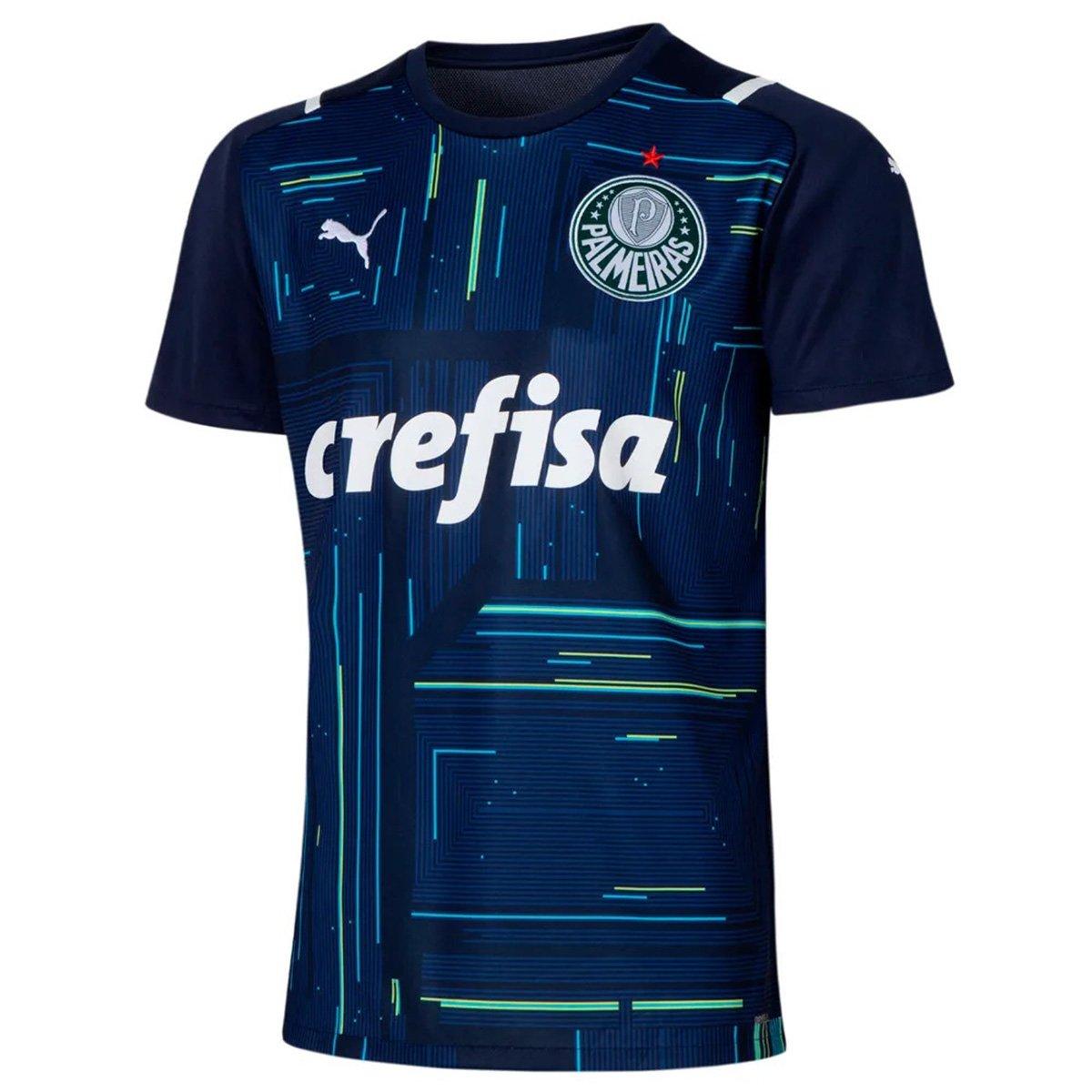 Camisa Puma Palmeiras Goleiro I 21/22 Torcedor