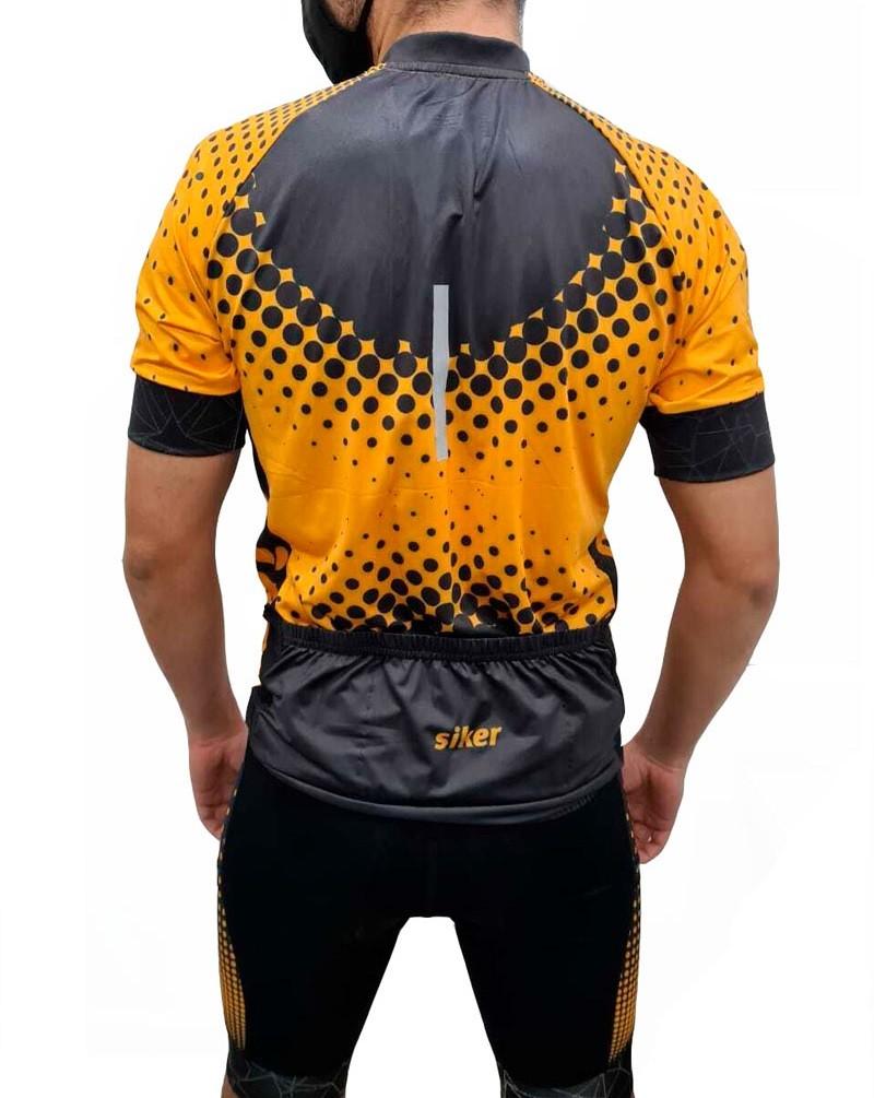 Camisa Siker Ciclismo Reflex