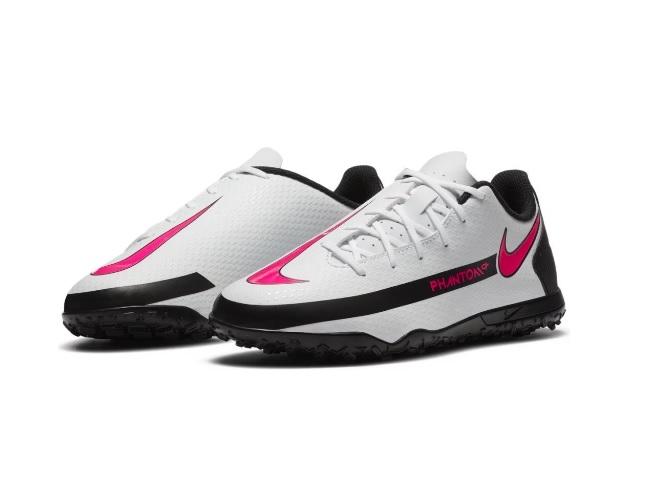 Chuteira Nike Society Phantom GT CLub TF Jr