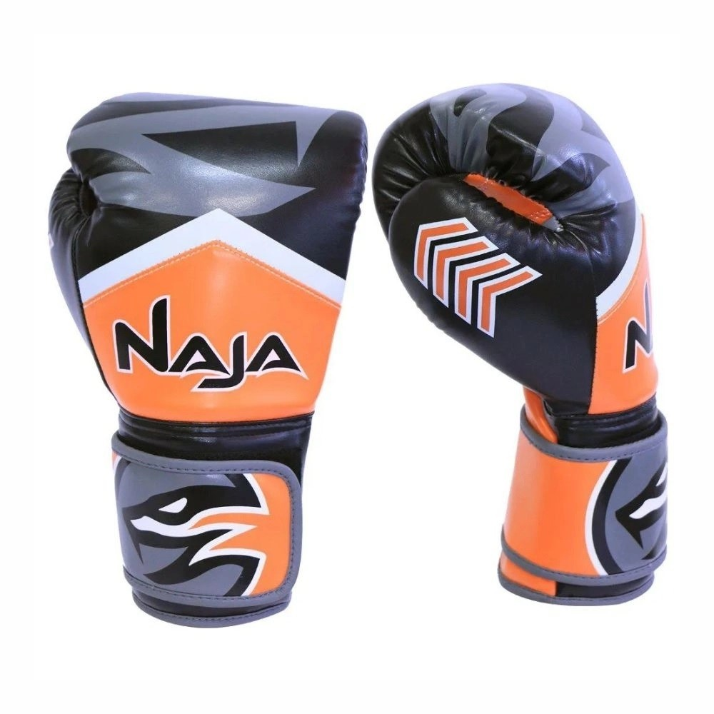 Kit de Boxe Naja New Extreme Bandagem + Protetor Bucal + Luvas