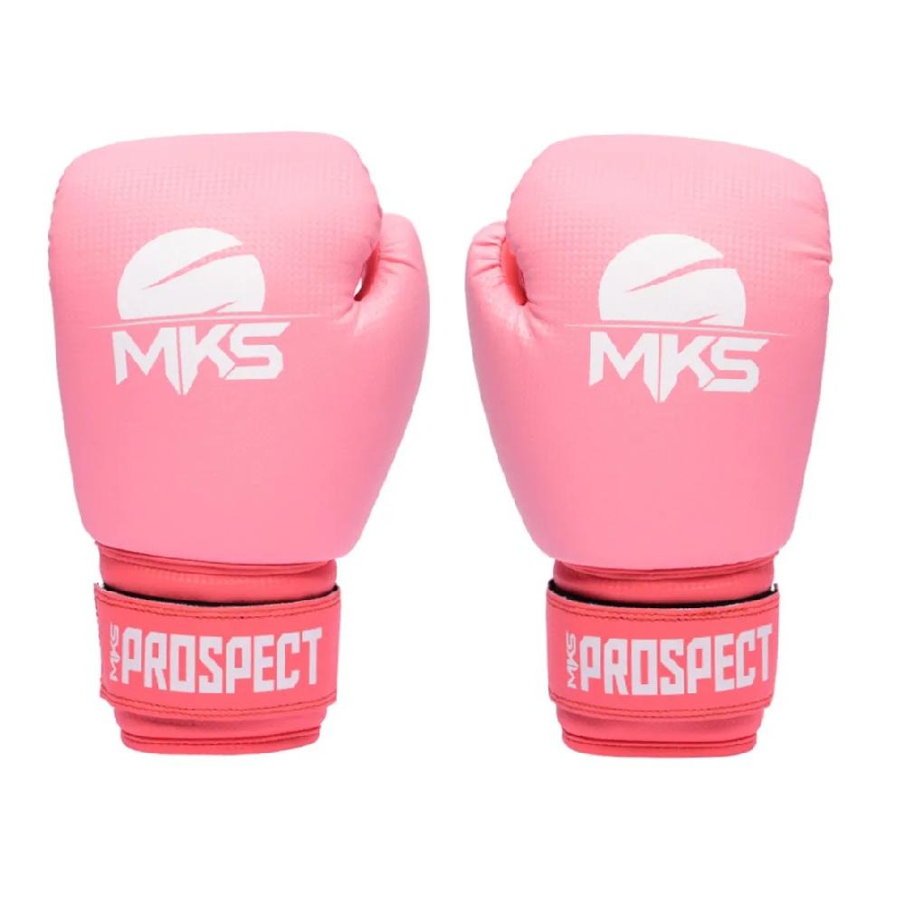 Kit Luva Boxe Muay Thai Prospect Mks Combat com Bandagem
