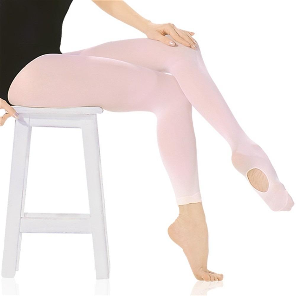 Meia Calça com Pé Só Dança Ballet Infantil